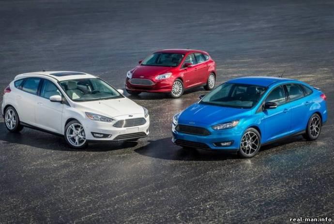 новый автомобиль ford focus